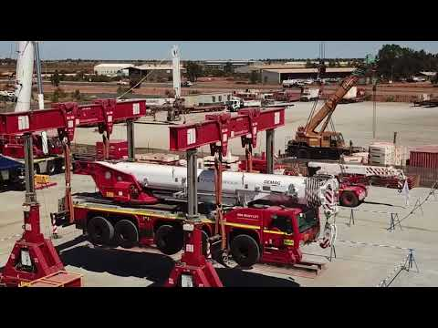 Heavy Lift Port Hedland Operations Centre Opening