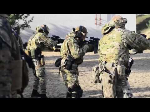 US MARINES & UKRAINE SPECIAL FORCES Conduct Joint Embassy Drills