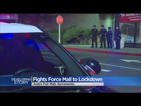 Another Large Brawl At Arden Fair Mall Forces Early Closure
