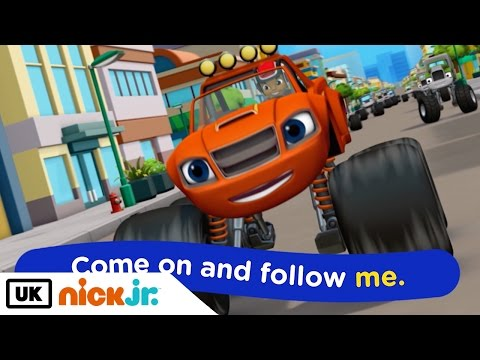 Blaze and the Monster Machines | Sing Along - Let's Blaze | Nick Jr. UK