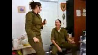 شاهد الكس الذى لا يقهر مجندات أسرائيل