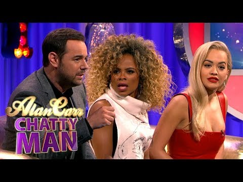 Danny Dyer Tells Fleur East And Rita Ora How To Handle Fans