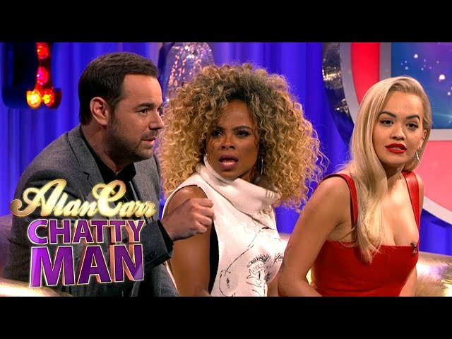 Danny Dyer Tells Fleur East And Rita Ora How To Handle Fans | Alan Carr Chatty Man