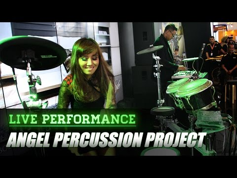 Live Perform at MBtech GIIAS 2016 - Percussion