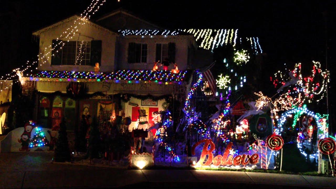 Temecula Christmas Lights! 2014 - YouTube