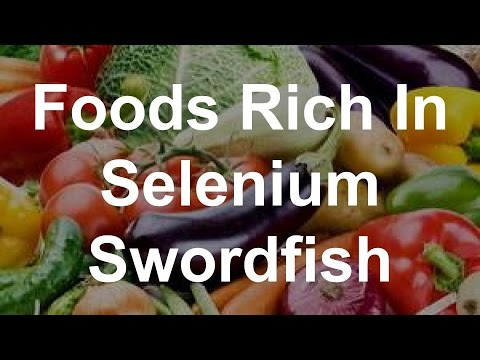 Foods Rich In Selenium - Swordfish