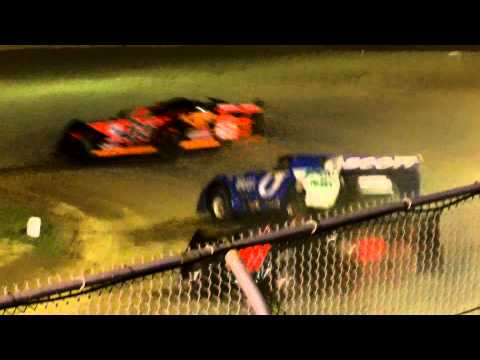 Little Valley Speedway 360 and Limited Late Model Feature Combined Part 2 7 17 15