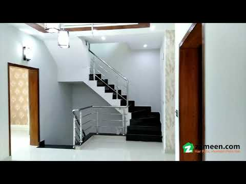 5 MARLA BRAND NEW HOUSE FOR SALE IN BLOCK AA CANAL GARDENS LAHORE