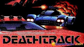 Deathtrack gameplay (PC Game, 1989)