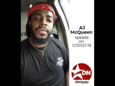 AJ McQueen joins Defender Facebook COVID-19 campaign