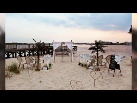 Ocean City Md Beach Wedding Ceremony Setups