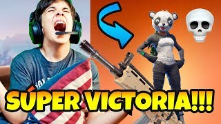 AMAZING MAGISTRAL VICTORY IN FORTNITE WITH SKIN Bear PANDA