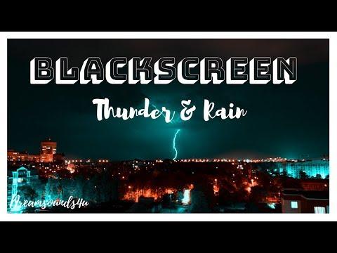 Thunder And Rain Sounds For Sleep