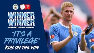 Liverpool 1-1 City | Kevin De Bruyne on Winning the Community Shield