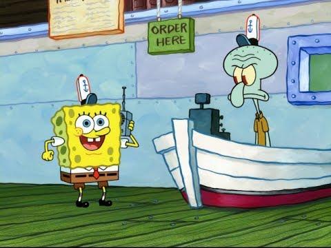 Spongebob The Musical Doodle W/Squidward