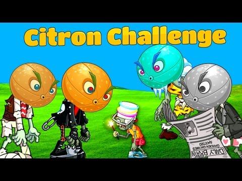 Plants Vs. Zombies 2 Gameplay Citron Challenge