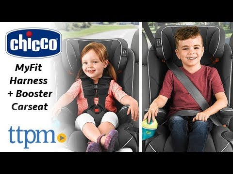 6e18e174ddd43 MyFit Harness + Booster Carseat from Chicco - YouTube