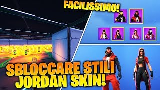 "CREATIVE MAP FOR COMPLETE ALL SKIN JORDAN STYLES ""CLUTCH"" & ""GRIND"" ON FORTNITE!"