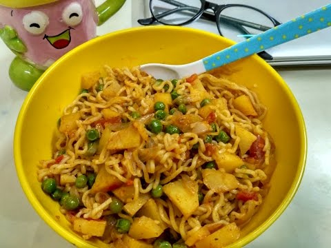 Spicy Veg Potato Maggi | My style Aaloo Wali Maggi | How to make Maggi | Maggi Recipe