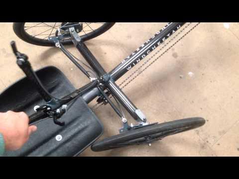 Windcheetah steering