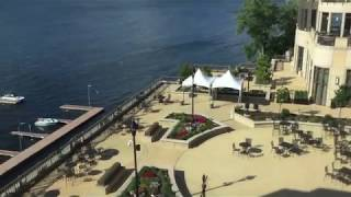 The Edgewater Hotel in Madison, WI, Room Tour