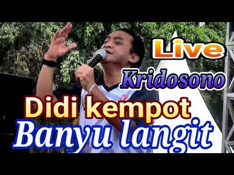 Banyu Langit Didi Kempot Live Konser Ambyar Kridosono Bank Jogja