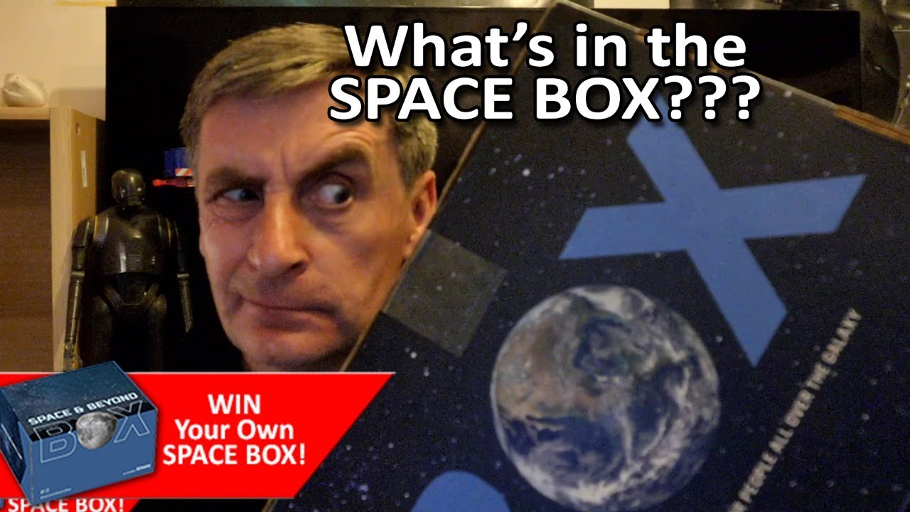 Space and Beyond Box - What's inside?  Watch and WIN one for yourself