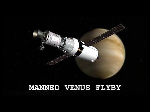 Manned Venus Flyby (remastered) - Orbiter Space Flight Simulator 2010