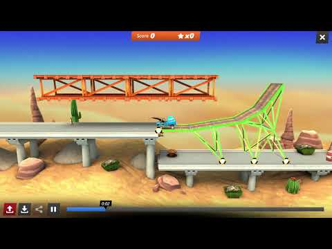 [Bridge Constructor Stunts] Campaign 2 - All Starts and Bolts |