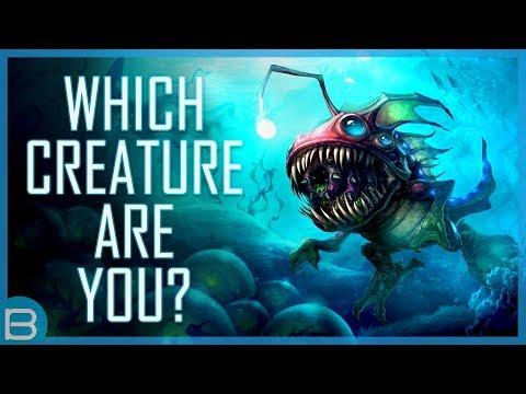 Which Sea Creature Are You?
