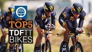 Top 5 - Tour de France TT Bikes