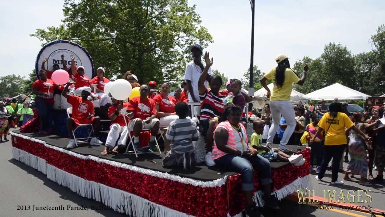 Juneteenth Parade 2013, 38th Annual Parade, Buffalo NY