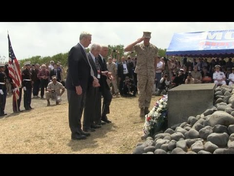 Secretary of the Navy Ray Mabus Visits the Island of Iwo To (HL 24)
