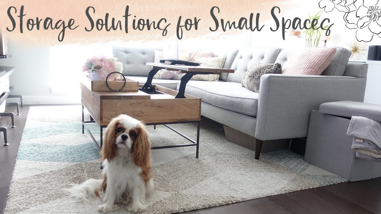 Storage Solutions For Small Spaces   YouTube