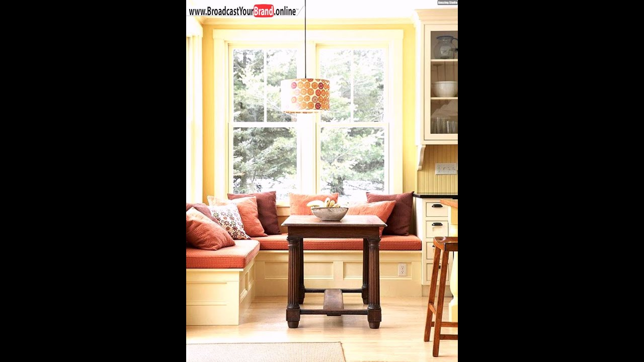 fensterbank orange farbe kleiner holztisch k che youtube. Black Bedroom Furniture Sets. Home Design Ideas