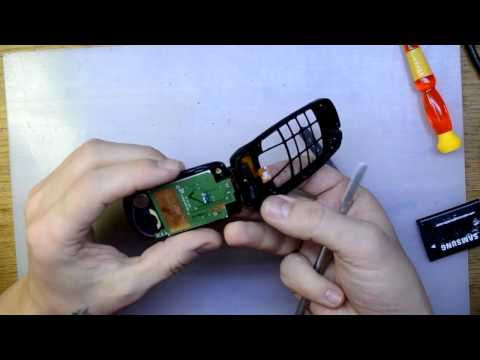 Samsung C260 замена шлейфа