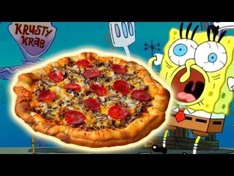 How To Make the KRUSTY KRAB PIZZA from Spongebob Squarepants! thumbnail