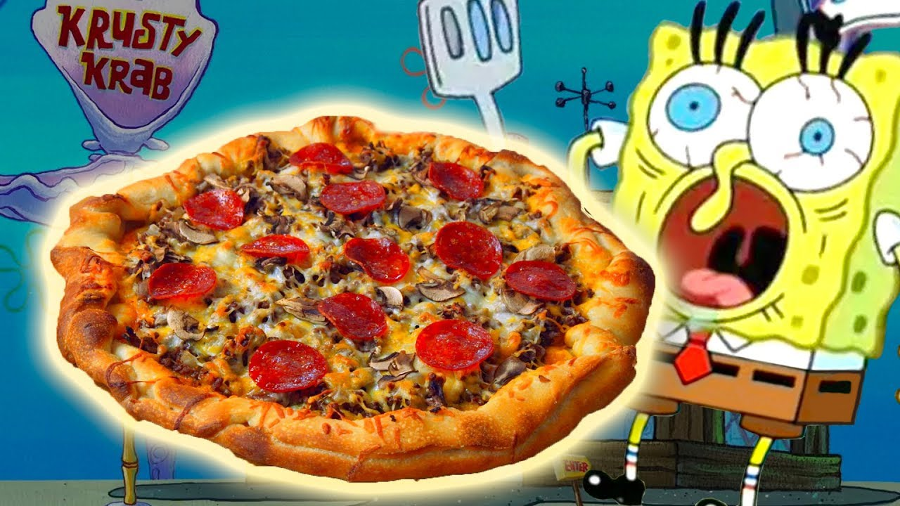 df058d9c8578ba How To Make the KRUSTY KRAB PIZZA from Spongebob Squarepants! - YouTube