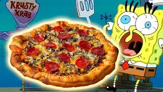 How To Make the KRUSTY KRAB PIZZA from Spongebob Squarepants! Video