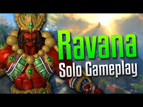 Smite: Fists of Fury- Ravana Solo Gameplay