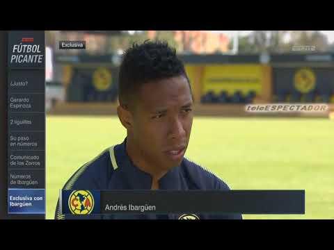 Andres Ibarguen habla de su llegada al Club America - Futbol Picante