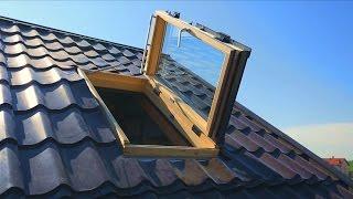 Устанавливаем мансардные окна Velux с сервоприводом.(Официальный Сервисный Центр компании VELUX ООО