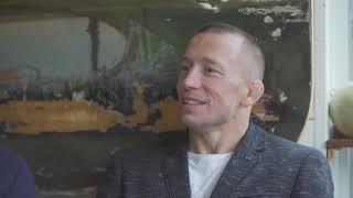 ДЖОРДЖ СЕНТ ПЬЕР РАССКАЗАЛ О СВОЕМ ВОЗВРАЩЕНИЕСРОЧНО СМОТРИТЕ