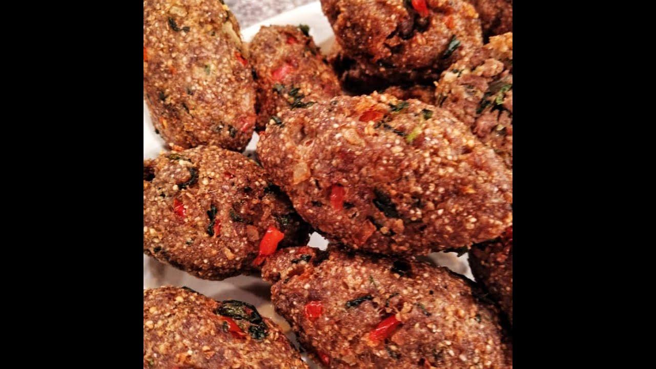 Receta de hoy: Kippe frito y vegetales grillados