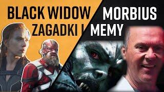 Black Widow vs Morbius Zagadki i Memy
