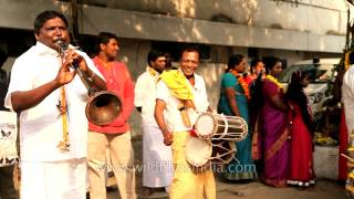 Tuning drums and other traditional musical instruments of Tamil Nadu