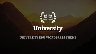 University Wordpress Theme Review & Demo | Education, Event and Course Theme | University Price & How to Install