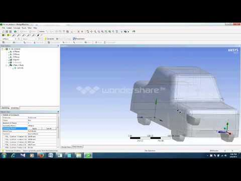 Drag and Lift calculations over a car using ANSYS Fluent 2