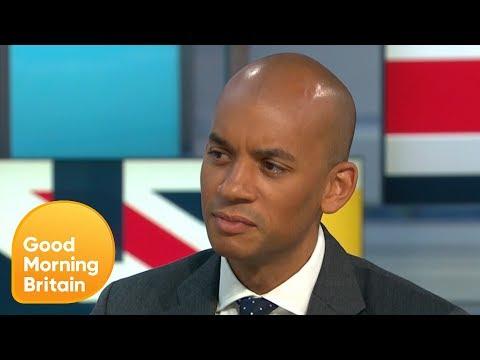 Change UK's Chuka Umunna Insists He Has No Regrets Setting Up the Party | Good Morning Britain