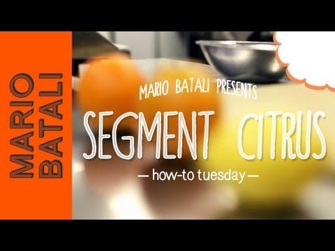 How to Segment Citrus Fruits (Orange, Lemon, Grapefruit)